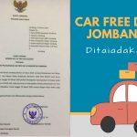 Antisipasi Penyebaran Virus Covid-19, Pemkab Jombang Tiadakan Car Free Day