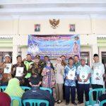Bupati Jombang Serahkan Sertifikat PTSL di Desa Karanglo Mojowarno