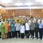 Bupati Jombang bersama Forkopimda Nobar Film Jejak Langkah 2 Ulama