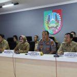 Bupati Mundjidah Wahab Gelar Rapat Koordinasi Lewat Telekonferensi