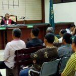 Mantan Kades dan Eks Ketua BPD Bulusari Pasuruan Dituntut 10 Tahun Penjara