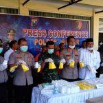 Ringkus Bandar Obat Terlarang, Polres Jember Amankan Jutaan Pil Koplo