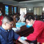 Baru Pulang Kunker, Puluhan Anggota DPRD Tulungagung Lakukan Tes Darah