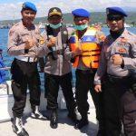 Pengamanan Hari Raya Nyepi dan Patroli Antisipasi Covid-19, Polresta Banyuwangi dan TNI AL Patroli di Selat Bali