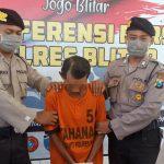 Perkosa Anak di Bawah Umur di Gubuk Tengah Sawah, Ketua RW di Blitar Diringkus Polisi