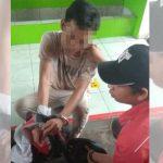 Pria Asal Kediri Ditangkap Polsek Kertosono di SPBU saat Hendak Jual Sabu-Sabu