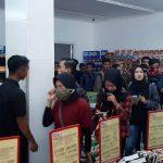 Polisi Bubarkan Kerumunan Massa Perekrutan Karyawan Toko Ritel di Mojokekrto