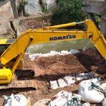 Tanggap Bencana Diperpanjang 14 Hari Untuk Lanjutan Pemasangan Geo Bag di Sungai Jompo