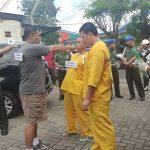 Denpom Gelar Rekontruksi Pembunuhan di Wonoayu Sidoarjo