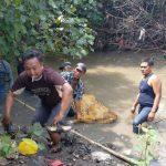 Geger Penemuan Mayat di Sungai Kedung Oleng Prambon Sidoarjo