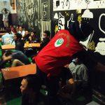 Bandel Masih Nokrong di Warung Kopi, Polisi Blitar Bubarkan Paksa Kerumunan Warga