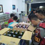 Razia Pekat, Polres Situbondo Sita Ratusan Botol Miras