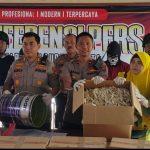 Penjual Ikan Asin dan Penyedia Formalin di Pasuruan Diciduk Polisi