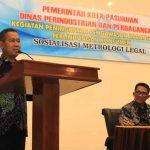 Sosialisasi Metrologi Legal, Ini Harapan Sekda Kota Pasuruan