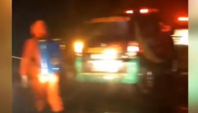 Detik-Detik Kedatangan Mobil Jenazah Terduga Korban Corona dari Jakarta di Blitar