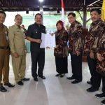 Wakil Bupati Sumrambah Hadiri Penyerahan MoU Pemkab Jombang dengan STKIP PGRI Jombang