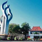 Monumen Arek Lancor Ditetapkan sebagai Kawasan Tertib Physical Distancing