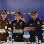 Gerebek Gudang di Lumajang, Bea Cukai Probolinggo Sita Jutaan Batang Rokok Ilegal
