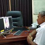 Kadisdik Sumenep Pantau Pelaksanaan KBM Online Via Teleconference