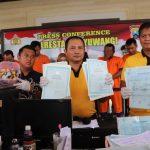 Enam Pemalsu Dokumen Kependudukan di Banyuwangi, Diringkus Polisi