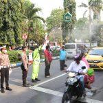 Dampak Corona, Volume Kendaraan di Jombang Berkurang Drastis