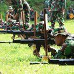 Asah Kembali Naluri Tempur, Anggota Kodim 0812 Lamongan Latihan Menembak