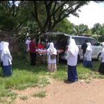 Tiba di Nganjuk, Puluhan Santri PP Lirboyo Kediri Dites Kesehatan