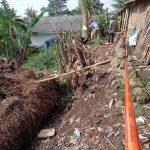 Longsor di Tulungagung Bertambah,Sepuluh Rumah Warga Terancam