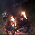 Seorang Begal di Pasuruan Nyaris Tewas Dimassa, Motor Dibakar