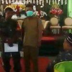 Video: Polisi Bubarkan Resepsi Pernikahan di Nganjuk Akibat Corona
