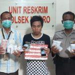 Pemuda Pungging Mojokerto Edarkan 16 Pil Koplo, Disuplai Ayah Tiri