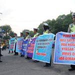 "Terkait Virus Corona, Puluhan Anggota Satlantas Polres Jombang ""Demo"""