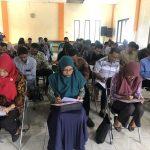 Ribuan Calon Anggota PPS Gresik, Jalani Tes Tulis