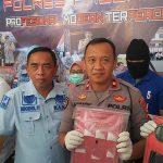 Dua Warga Pasuruan 'Digaruk' Polisi Usai Transaksi Sabu-Sabu