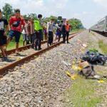 Salesman Obat Asal Madiun Tewas Tertabrak Kereta Api di Nganjuk