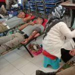 Tambah Stok Darah PMI, Puluhan Anggota Satpol PP Ramai-ramai Donor