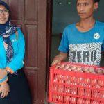 Heboh, Telur BPNT di Jombang Ada Belatungnya