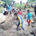 Hanyut di Sungai 15 Hari, Warga Gondang Mojokerto Ditemukan Terbenam Pasir