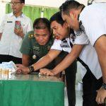Antisipasi Salah Gunakan Narkoba, Anggota Kodim 0812 Lamongan Tes Urine