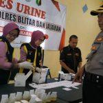 Tes Urine Anggota, Kapolres Blitar: Yang Positif Narkoba Saya Pecat!