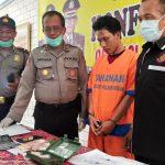 Isap Sabu, Warga Krian Sidoarjo Diamankan Beserta 7 Gram Sabu