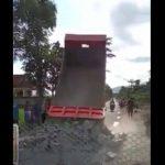 Viral Video Penutupan Akses Jalan Desa Perbatasan Tulungagung-Trenggalek