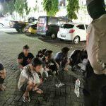 Patroli Phsycal Distancing, Polisi Situbondo Ciduk 8 Remaja Pesta Miras