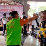 Bupati Mundjidah Kunjungi Posko Antisipasi Penyebaran Virus Covid-19 di Terminal dan Stasiun Jombang