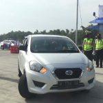 Operasi di Exit Tol Begadung, Polisi Cegah Pemudik Masuk Nganjuk