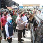 Gubernur Khofifah Sidak Pintu Tol Ngawi, 550 Mobil Pemudik Dihalau