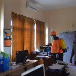 Redam Corona, Gedung dan Ruangan IAIN Madura Disemprot Disinfektan