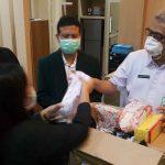 IDI Kota Probolinggo Sampaikan Bantuan APD ke RSUD dr Mohamad Saleh
