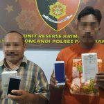 Dua Pencuri Ponsel di Gondangwetan Pasuruan Diciduk Polisi