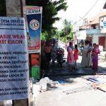 Ratusan Pesepeda Motor Rusak Bilik Disinfektan di Lamongan